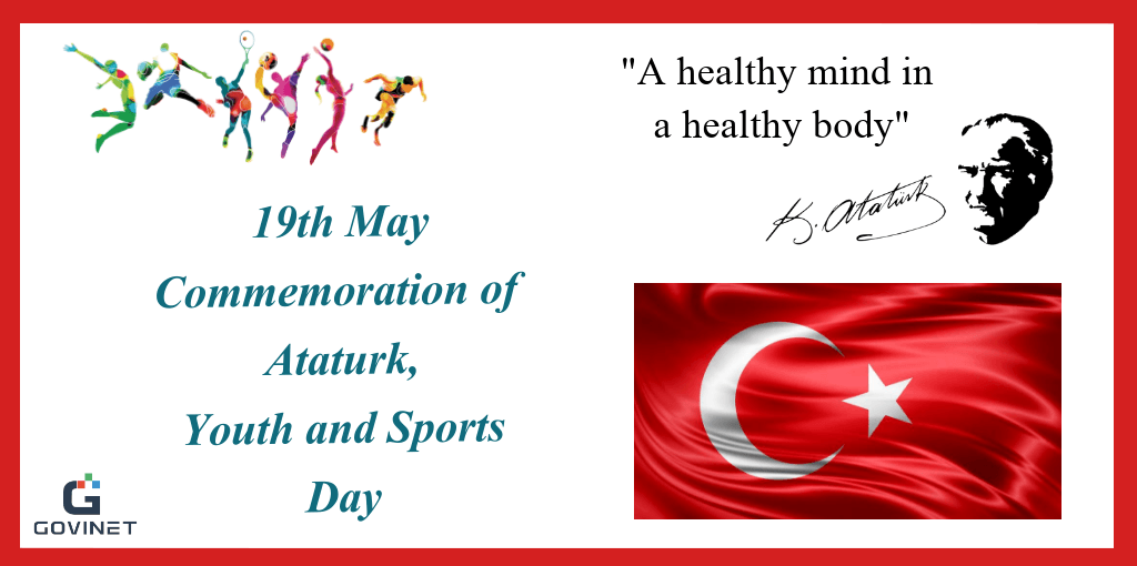 May 19th! Commemoration of Atatürk, Youth and Sports Day in Turkey
