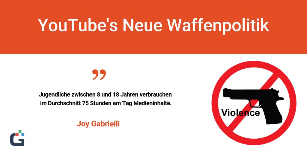 YouTube's Neue Waffenpolitik